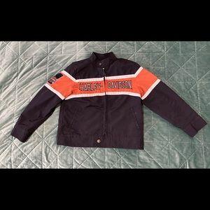 ✨ Kids Harley Davidson Windbreaker Jacket